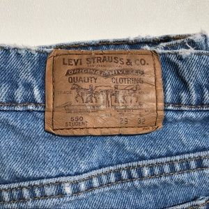 "Levi's Jeans - LEVI'S 550 Wedgie Fit "" Student "" Jeans Size 27"